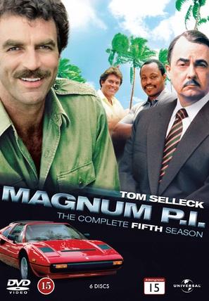 """""""Magnum, P.I."""" - Norwegian DVD movie cover (thumbnail)"""