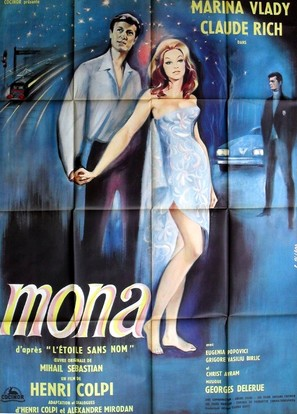 Mona, l'étoile sans nom - French Movie Poster (thumbnail)