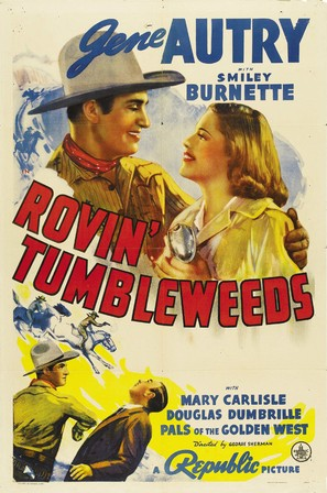 Rovin' Tumbleweeds - Theatrical poster (thumbnail)