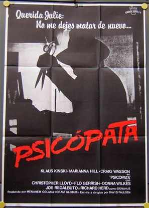 Schizoid - Spanish Movie Poster (thumbnail)