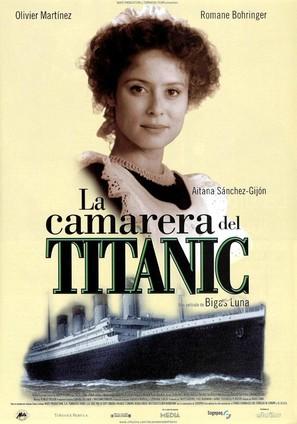 La femme de chambre du Titanic - Spanish Movie Poster (thumbnail)