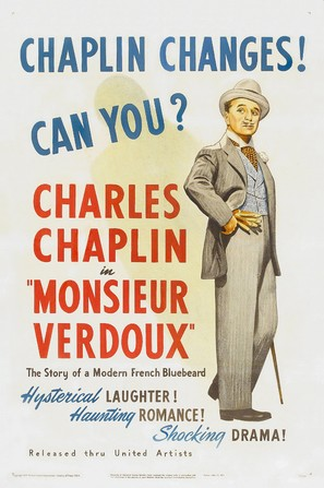 Monsieur Verdoux - Theatrical poster (thumbnail)