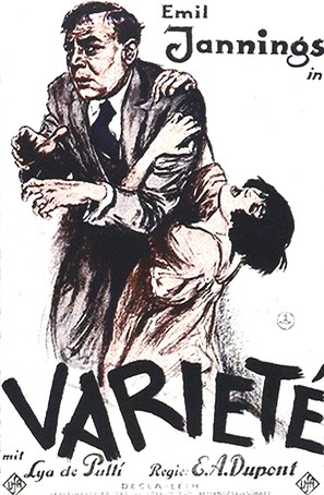 Varieté - German Movie Poster (thumbnail)