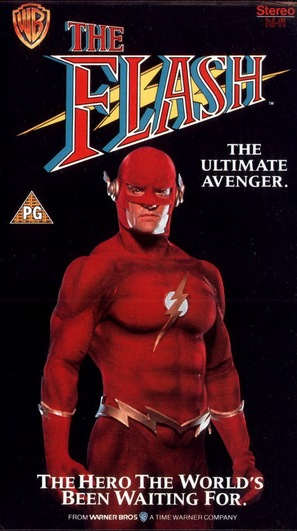 """The Flash"" - British VHS cover (thumbnail)"