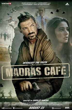 Madras Cafe - Indian Movie Poster (thumbnail)