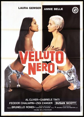 Velluto nero - Italian Movie Poster (thumbnail)