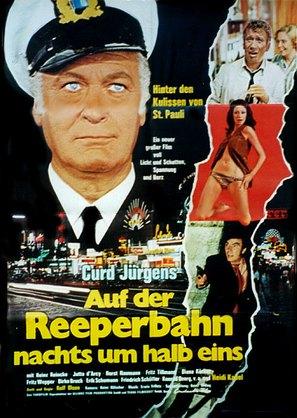 Auf der Reeperbahn nachts um halb eins - German Movie Poster (thumbnail)