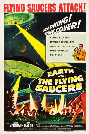 Earth vs. the Flying Saucers - Movie Poster (thumbnail)