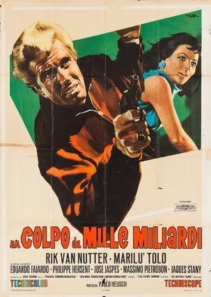 Un colpo da mille miliardi - Italian Movie Poster (thumbnail)