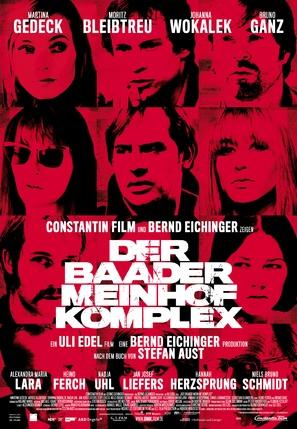Der Baader Meinhof Komplex - German Movie Poster (thumbnail)
