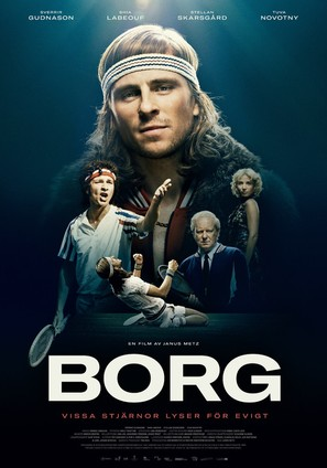 Borg - Swedish Movie Poster (thumbnail)