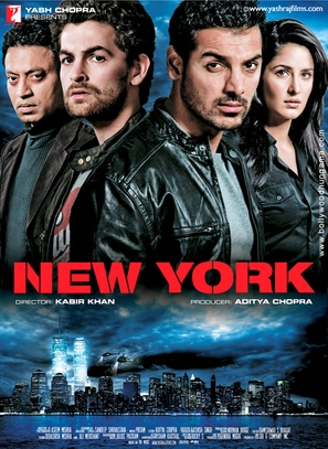 New York - Indian Movie Poster (thumbnail)