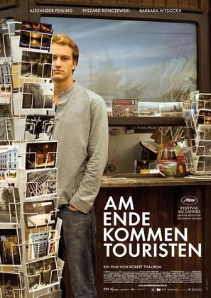Am Ende kommen Touristen - German poster (thumbnail)