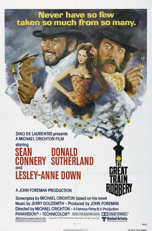The First Great Train Robbery - Theatrical movie poster (thumbnail)