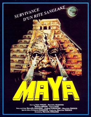 Maya - French Movie Poster (thumbnail)