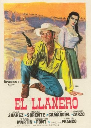 Llanero, El - Spanish Movie Poster (thumbnail)