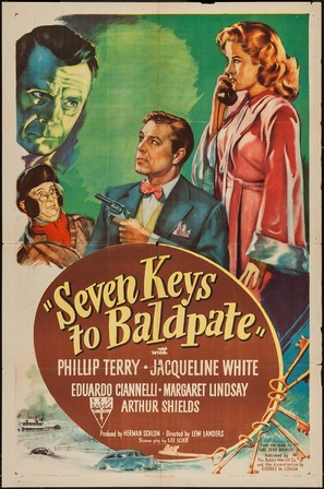 Seven Keys to Baldpate - Movie Poster (thumbnail)
