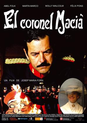 El coronel Macià - Spanish Movie Poster (thumbnail)