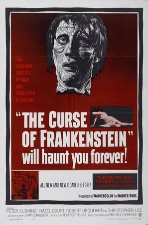 The Curse of Frankenstein - Movie Poster (thumbnail)