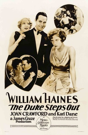 The Duke Steps Out - Movie Poster (thumbnail)