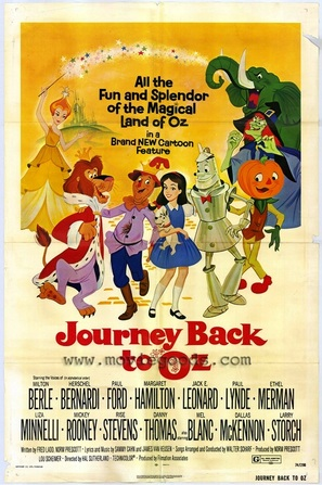 Journey Back to Oz - Movie Poster (thumbnail)