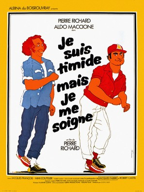 Je suis timide... mais je me soigne - French Movie Poster (thumbnail)