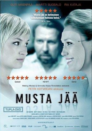Musta jää - German Movie Cover (thumbnail)