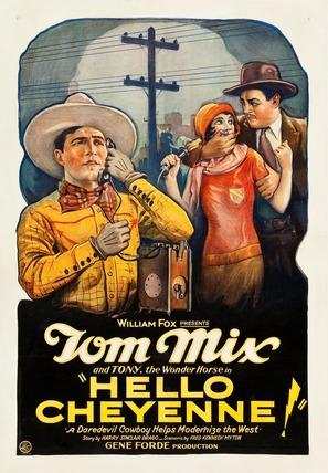 Hello Cheyenne - Movie Poster (thumbnail)