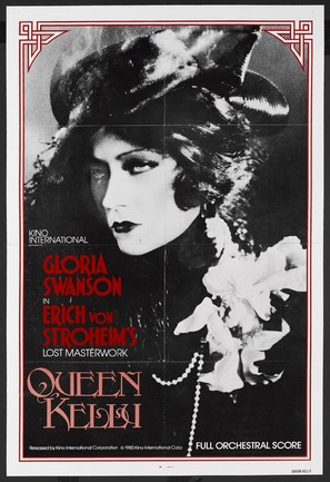 Queen Kelly - Re-release movie poster (thumbnail)