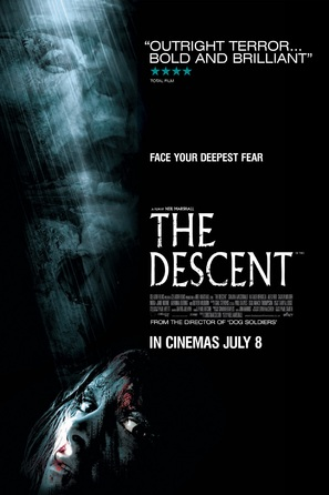 The Descent - British Movie Poster (thumbnail)