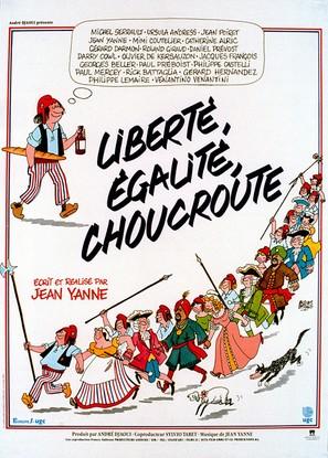 Liberté, égalité, choucroute - French Movie Poster (thumbnail)