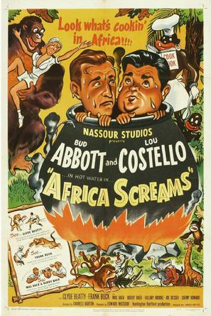 Africa Screams - Movie Poster (thumbnail)