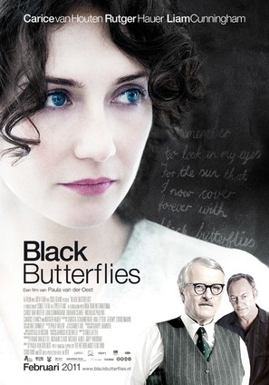 Black Butterflies - Dutch Movie Poster (thumbnail)