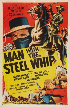 Man with the Steel Whip - Movie Poster (thumbnail)