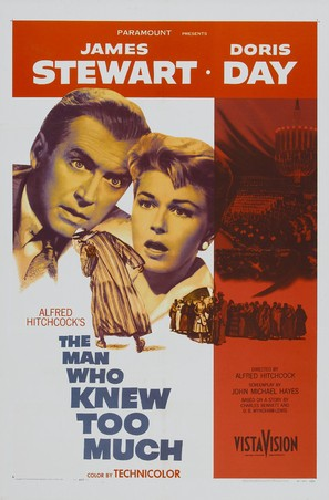 The Man Who Knew Too Much - Movie Poster (thumbnail)