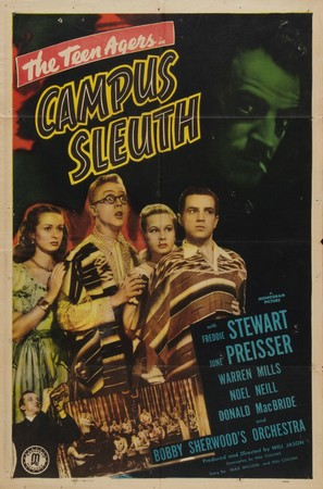 Campus Sleuth - Movie Poster (thumbnail)