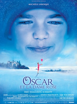 Oscar et la dame rose - French Movie Poster (thumbnail)