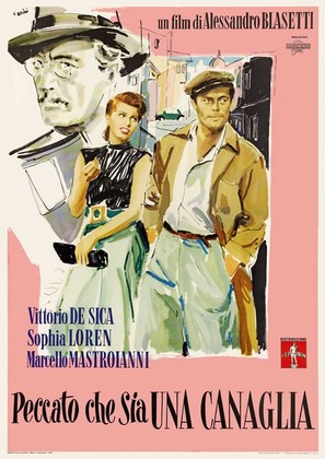 Peccato che sia una canaglia - Italian Movie Poster (thumbnail)