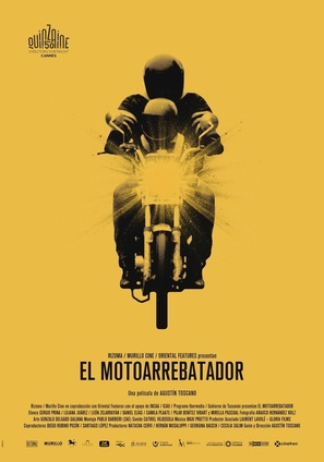 El Motoarrebatador - Argentinian Movie Poster (thumbnail)