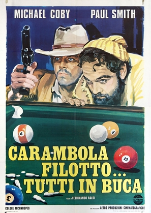 Carambola, filotto... tutti in buca - Italian Movie Poster (thumbnail)
