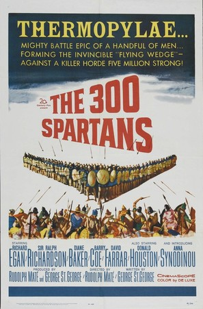 The 300 Spartans - Movie Poster (thumbnail)