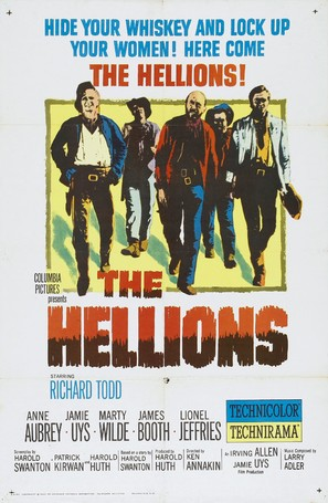 The Hellions - Movie Poster (thumbnail)