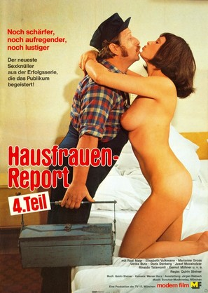 Hausfrauen-Report 4 - German Movie Poster (thumbnail)