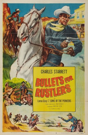 Bullets for Rustlers - Movie Poster (thumbnail)