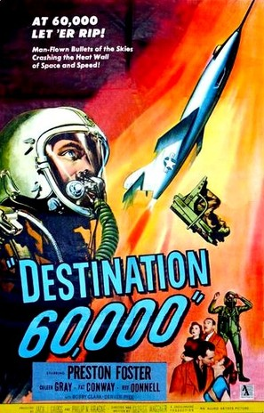 Destination 60,000 - British Movie Poster (thumbnail)