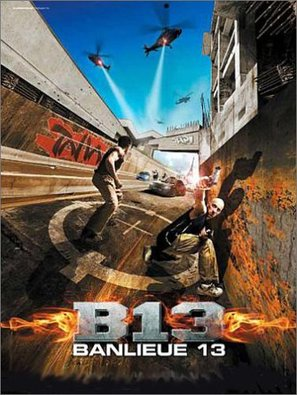 Banlieue 13 - French Movie Poster (thumbnail)