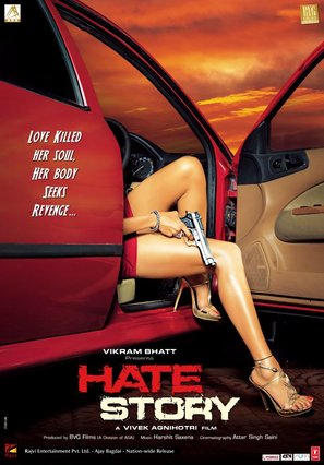 Hate Story - Indian Movie Poster (thumbnail)