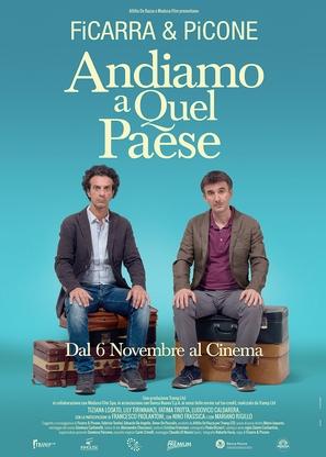 Andiamo a quel paese - Italian Movie Poster (thumbnail)