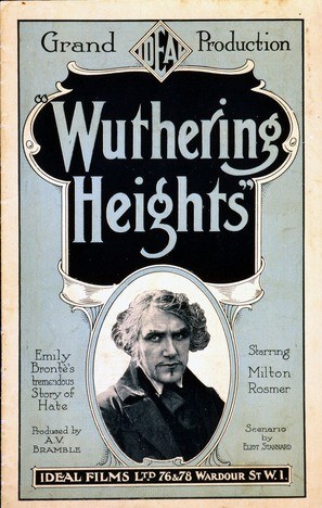 Wuthering Heights - Movie Poster (thumbnail)