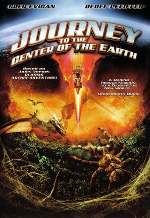 Journey to the Center of the Earth - DVD cover (thumbnail)